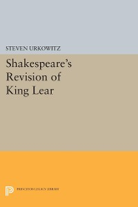 Cover Shakespeare's Revision of KING LEAR