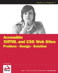 Cover Accessible XHTML and CSS Web Sites