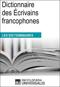 Cover Dictionnaire des Écrivains francophones