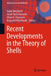 Cover Recent Developments in the Theory of Shells