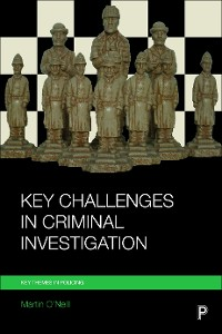 Cover Key challenges in criminal investigation