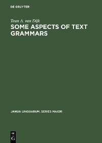 Cover Some Aspects of Text Grammars