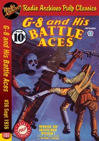 Cover G-8 and His Battle Aces #36 September 19