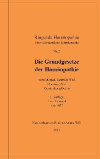 Cover Die Grundgesetze der Homöopathie