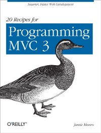 Cover 20 Recipes for Programming MVC 3