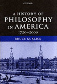 Cover History of Philosophy in America