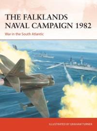 Cover Falklands Naval Campaign 1982