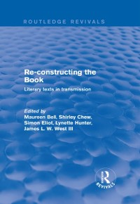 Cover Re-Constructing the Book