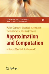 Cover Approximation and Computation