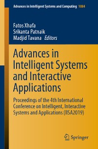 Cover Advances in Intelligent Systems and Interactive Applications