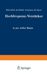 Cover Hochfrequenz-Verstarker