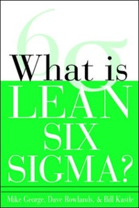 Cover What is Lean Six Sigma