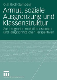Cover Armut, soziale Ausgrenzung und Klassenstruktur