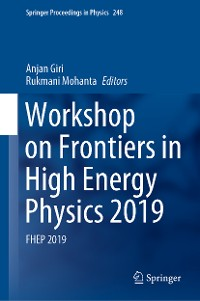 Cover Workshop on Frontiers in High Energy Physics 2019