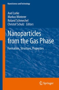 Cover Nanoparticles from the Gasphase