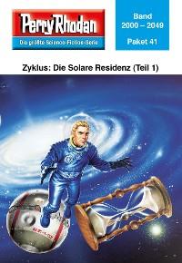 Cover Perry Rhodan-Paket 41: Die Solare Residenz (Teil 1)