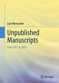 Cover Unpublished Manuscripts