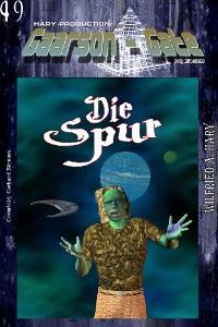 """Cover GAARSON-GATE 049: """"Die Spur"""""""