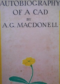 Cover Autobiography of a Cad