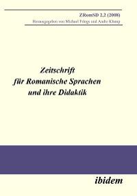 Cover Zeitschrift für Romanische Sprachen und ihre Didaktik