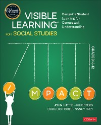 Cover Visible Learning for Social Studies, Grades K-12