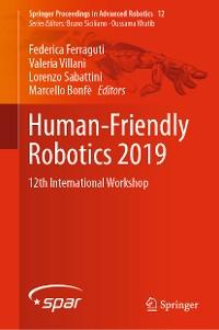 Cover Human-Friendly Robotics 2019