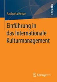Cover Einfuhrung in das Internationale Kulturmanagement