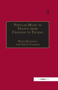 Cover Popular Music in France from Chanson to Techno