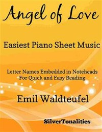Cover Angel of Love Easiest Piano Sheet Music