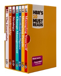Cover HBR's 10 Must Reads Boxed Set with Bonus Emotional Intelligence (7 Books) (HBR's 10 Must Reads)