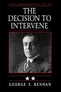 Cover Soviet-American Relations, 1917-1920, Volume II