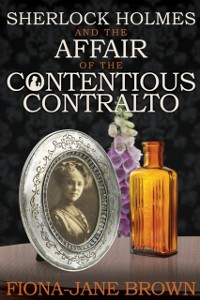 Cover Sherlock Holmes and The Affair of The Contentious Contralto