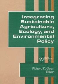 Cover Integrating Sustainable Agriculture, Ecology, and Environmental Policy
