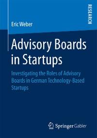 Cover Advisory Boards in Startups