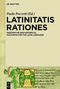 Cover LATINITATIS RATIONES