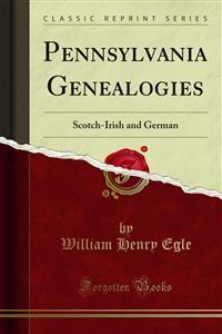 Cover Pennsylvania Genealogies