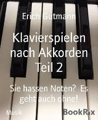 Cover Klavierspielen nach Akkorden Teil 2
