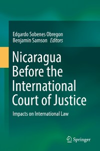 Cover Nicaragua Before the International Court of Justice