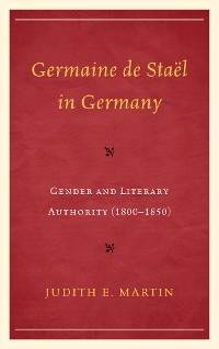 Cover Germaine de Staël in Germany