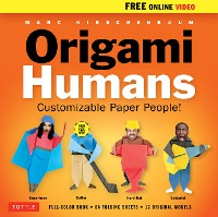 Cover Origami Humans Ebook