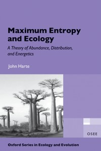 Cover Maximum Entropy and Ecology