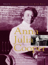 Cover The Voice of Anna Julia Cooper