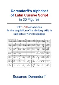 Cover Dorendorff 's Alphabet of Latin Cursive Script in Figures