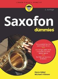 Cover Saxofon für Dummies