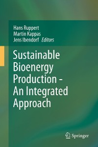 Cover Sustainable Bioenergy Production - An Integrated Approach