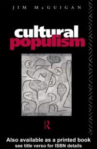 Cover Cultural Populism