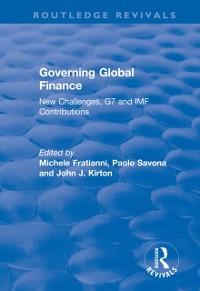 Cover Governing Global Finance