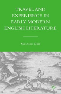 Cover Travel and Experience in Early Modern English Literature