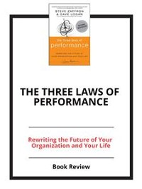 Cover The Three Laws of Performance
