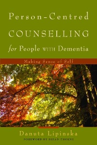 Cover Person-Centred Counselling for People with Dementia